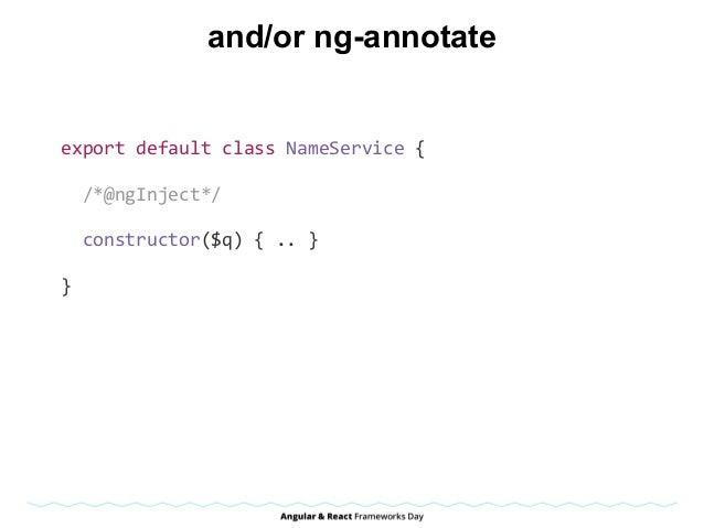 ES5, Karma, Jasmine, PhantomJS describe('TodoService',function(){ varTodoService,InitialTodosMock; //Instan...