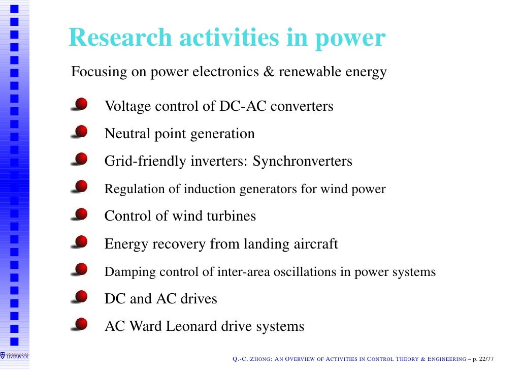 research papers on power electronics Eep's section researched and projects (rap) encourages every research scholar, professors, faculty members and research students to publish their research papers on eep eep's goal is to promote scientific research in electrical engineering in general, power substation, transformers, hvac .