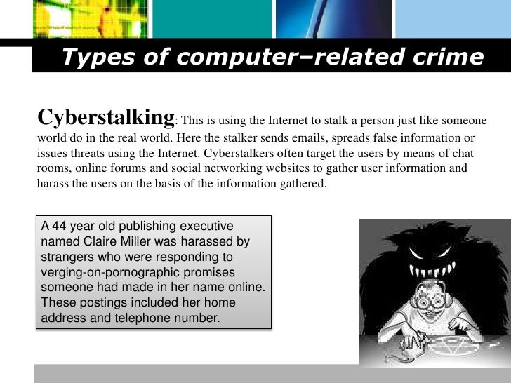 categories of computer crimes essay An essay or paper on types of computer crimes this paper will examine the growing problem of computer crime in this country several different types of computer crime, as well as preventative measures for each, will be addressed the high cost and legal aspects of computer crime will also be exp.