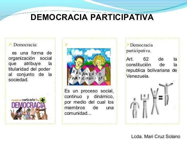 Particiapción ciudadana en el control de la gestión pública en vzla Slide 3