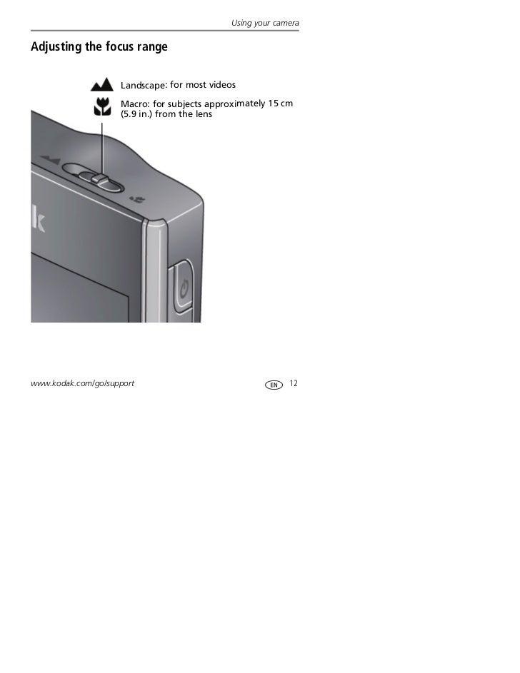 kodak video camera zi8 manual