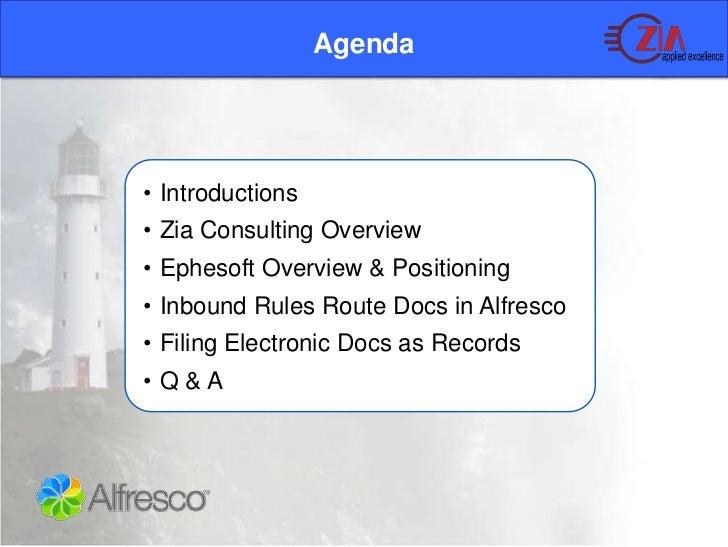 Zia   ephesoft records management webinar Slide 2