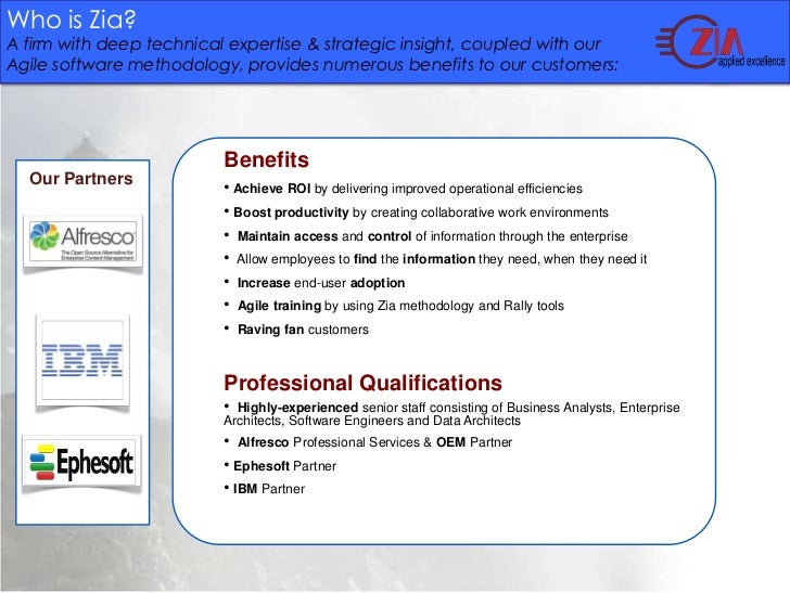 Zia   ephesoft records management webinar Slide 3