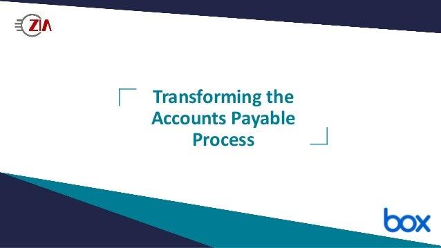 Transforming the Accounts Payable Process