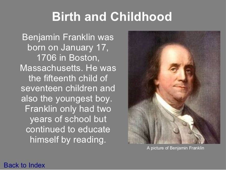 essay on ben franklins autobiography Benjamin franklin considered being founding fathers of the america he is mostly thought of as the revolutionary person who led protests against.