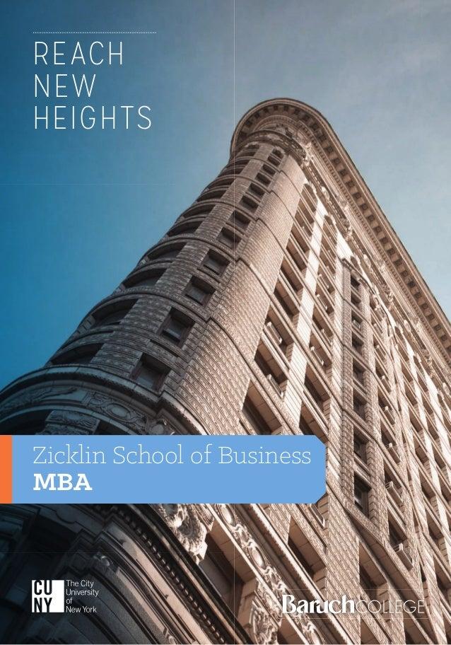 zicklin school of business