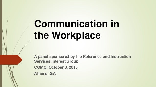 communication in the workplace  challenges and strategies