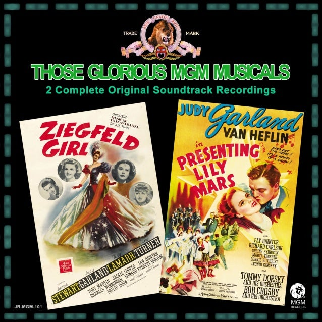 """W  Judy Garland, Hedy Lamarr & Lana Turner in Ziegfeld Girl  hat if M-G-M Records had expanded their popular """"Those Glorio..."""