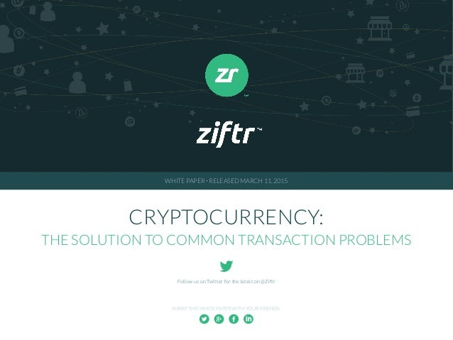 White paper cryptocurrency dig