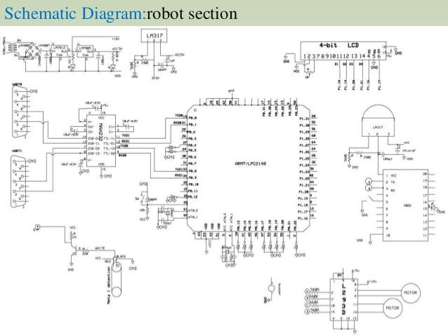 Bomb Detector Circuit Diagram | Zigbee Based Metal Detecting Robot To Assist Bomb Detection And Rescu