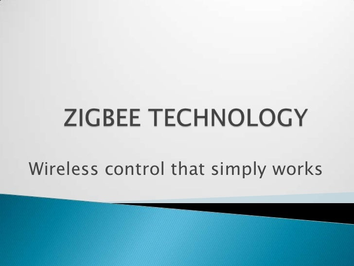 Wireless control that simply works