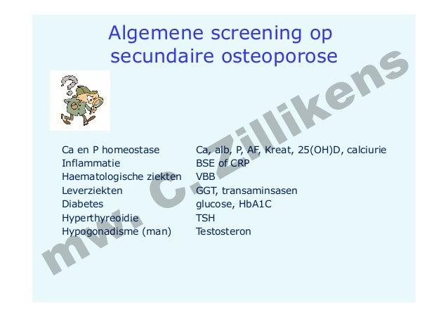 osteoporose screening