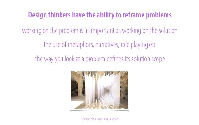 assignment 2  reframing Go back to the wicked problem you chose. What kind of metaphor could you use to describe that prob...