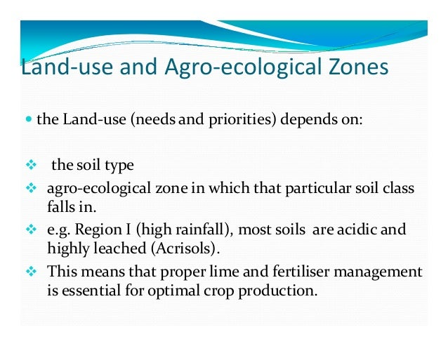 Status of soil resources in zimbabwe the needs and for Soil use and management