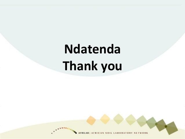 Ndatenda Thank you