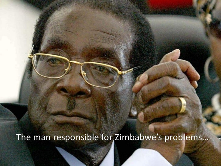 The man responsible for Zimbabwe's problems…