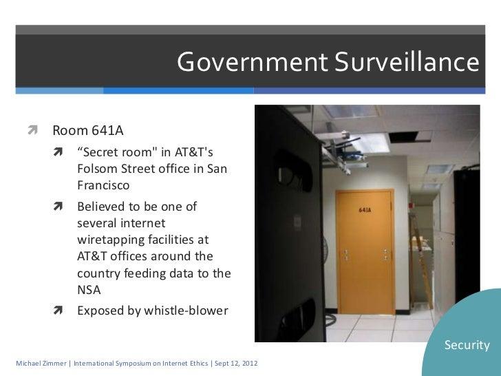 ethics of government surveillance