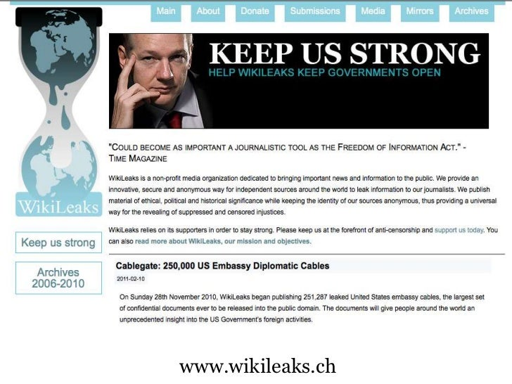 ethics of wikileaks In this article i deal with ethics and the internet rather than morality and the  internet  in this connection, the important case of wikileaks will be discussed  later.