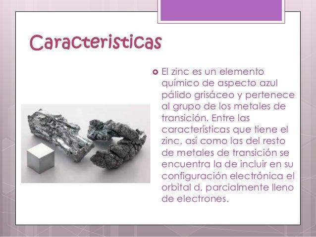 Zinc 3 caracteristicas el zinc es un elemento urtaz Images