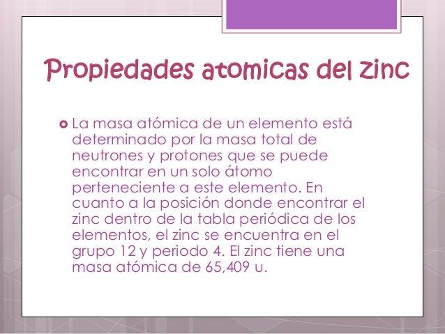 Zinc 7 propiedades atomicas del zinc urtaz Images