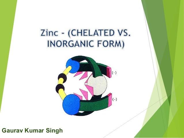 Zinc edta vs zinc sulphate