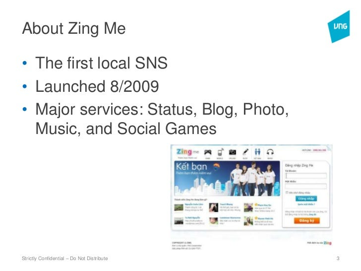 Zing Me Launch Meetup July 2011 Slide 3
