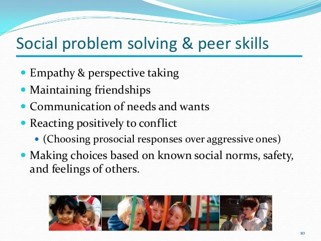 Social And Emotional Problems Related >> Social Emotional Development In Preschool