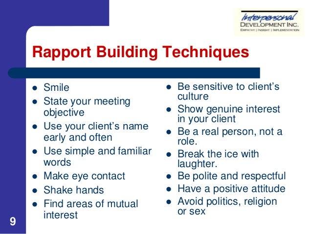 Meeting proposal