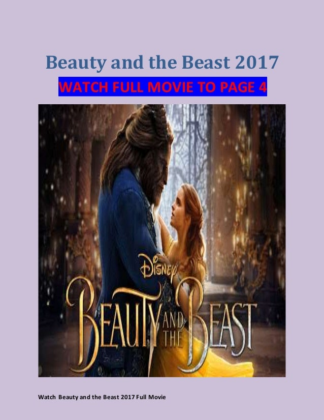 Watch Beauty And The Beast 2017 Full Movie Streaming 2017