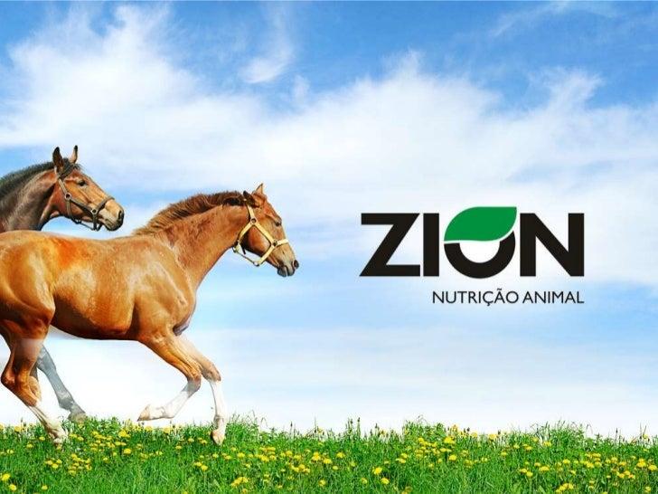 ZION NUTRIÇÃO ANIMALA nova força da nutrição animalMISSÃOA Zion Nutrição Animal nasce com o propósito deatender com eficiê...