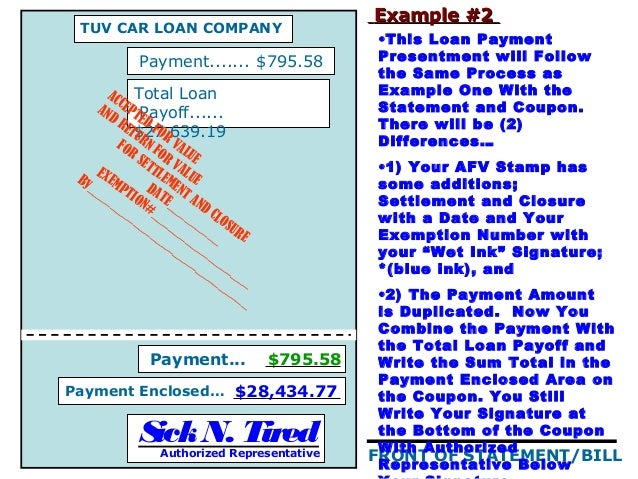 acceptance for value template - zion credit group afv pres jdh april 2009