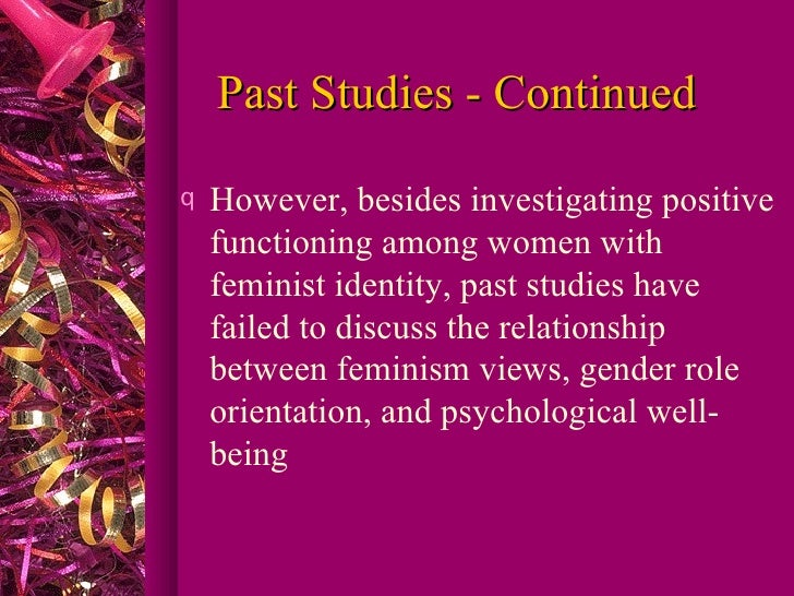 the views of gender identity and the development of gender role Biological theories of gender  both play a role in gender development  produce the child\s sense of gender identity western societies view gender as having .