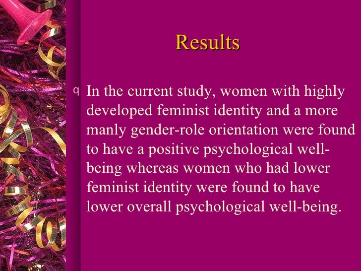 the role of women in the study of psychology Culture of honor: the psychology of violence in the south nisbett and cohen briefly examine the role of women in the promotion of the culture of honor nisbett and cohen combine research techniques from the study of history, sociology, psychology, anthropology, and ethnology.