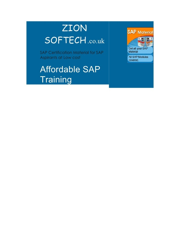 SAP EWM CERTIFICATION MATERIALS