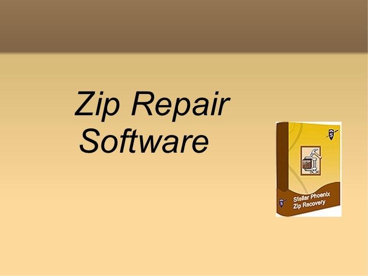 Zip Repair Software