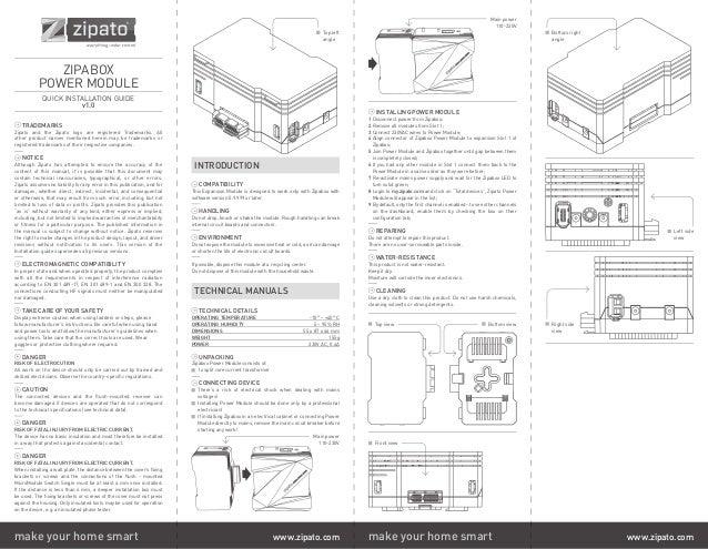 Zipato power metering module manual