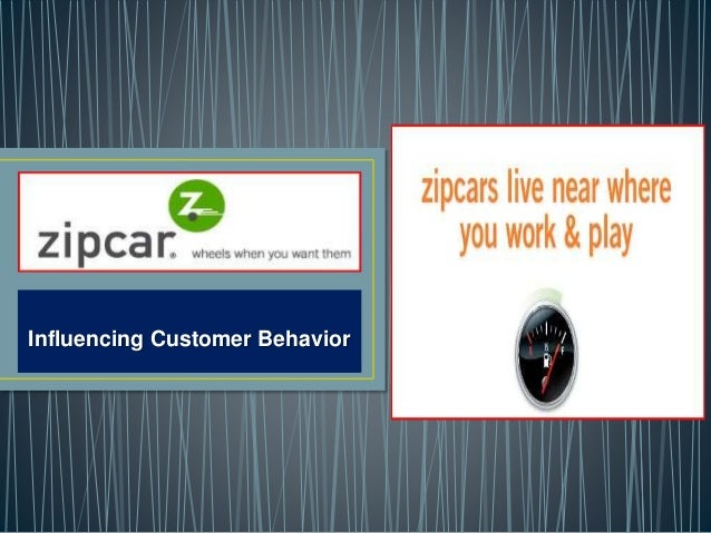 Influencing Customer Behavior