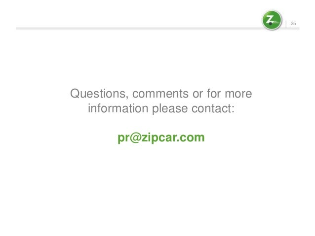 Zipcar hbr case study