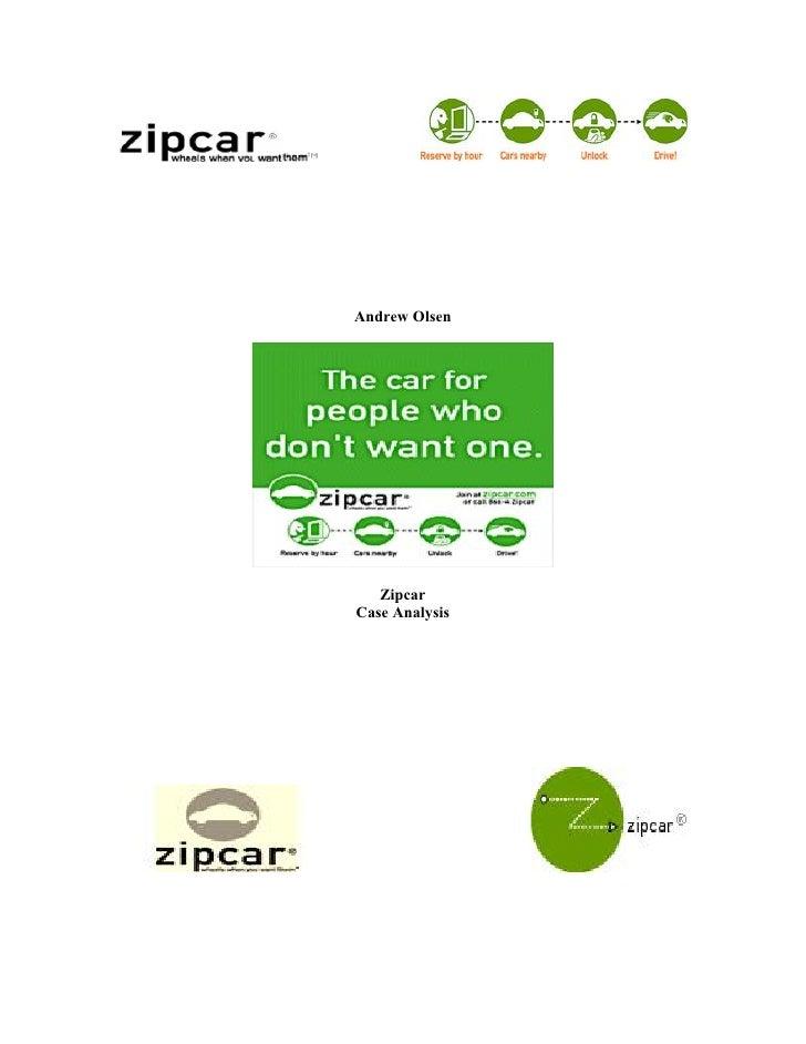 zipcar case study slideshare