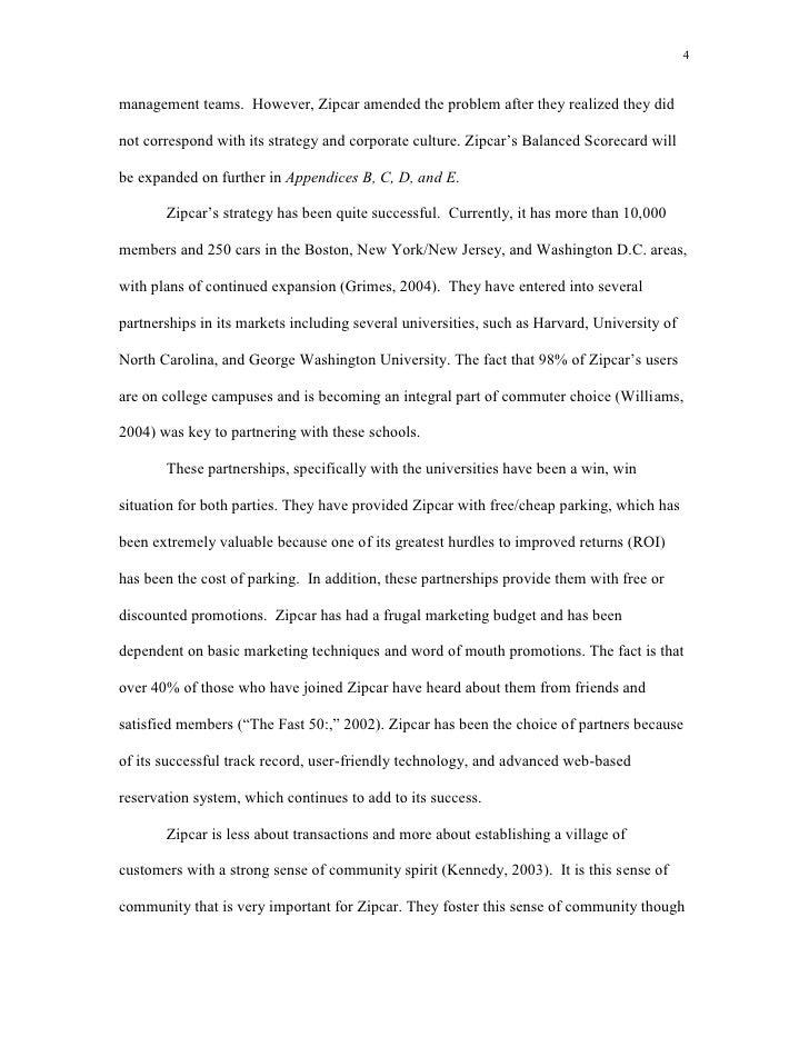 Zipcar Case Study Summary   Solution  Analysis   Case Study Help