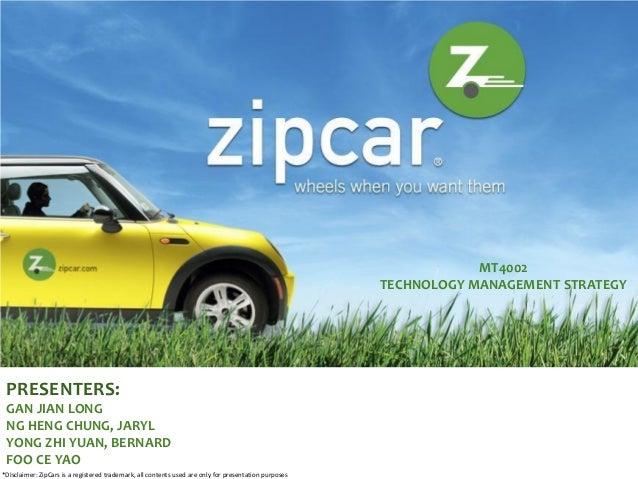 Zipcar HBS Case Analysis
