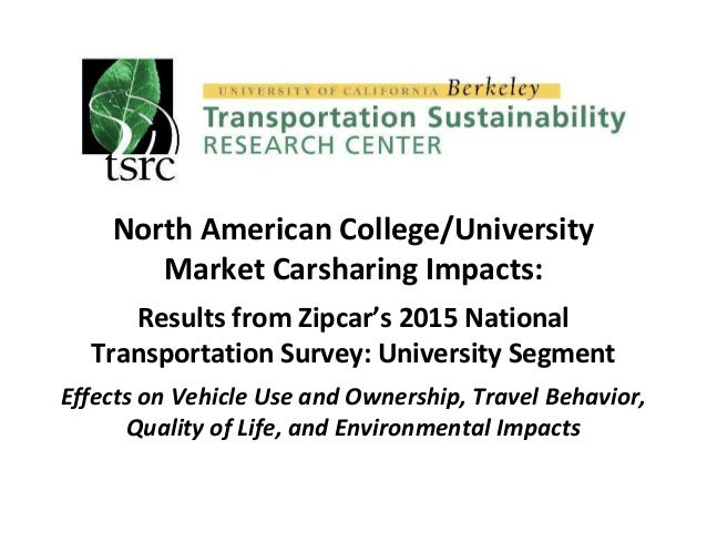 Cancel Zipcar Membership >> Zipcar Uc Berkeley Tsrc Release Findings Of 2015 National