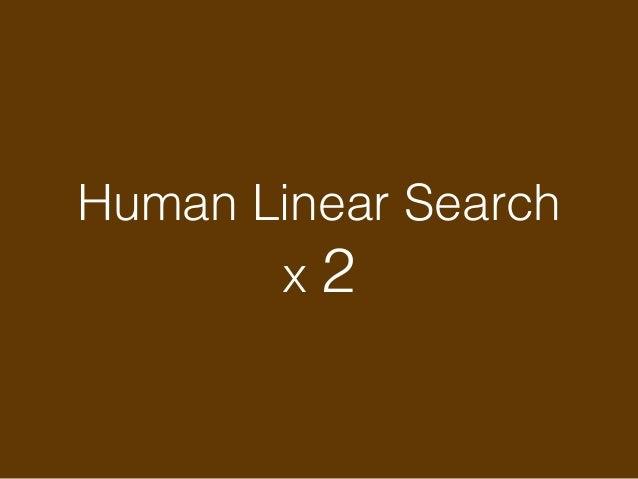 Human Linear Search x 3 Click x 1 Human-hard Linear Search x 1