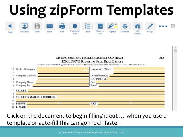 zipForms, Docusign, Cartavi ... Oh My!