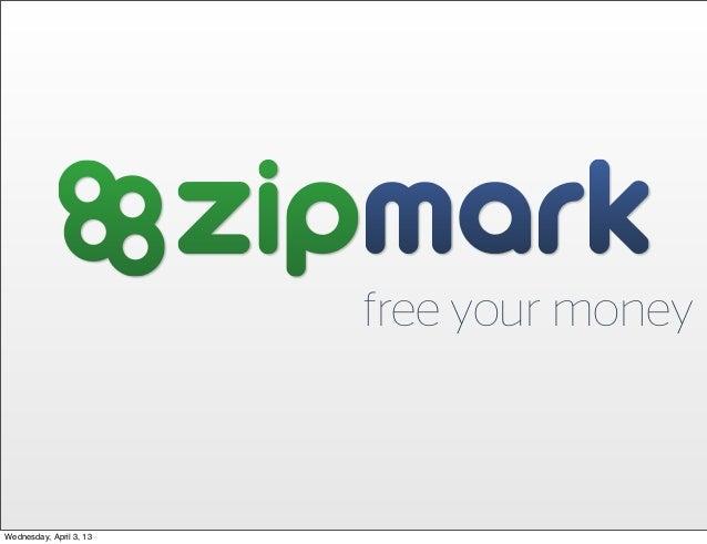 free your moneyWednesday, April 3, 13
