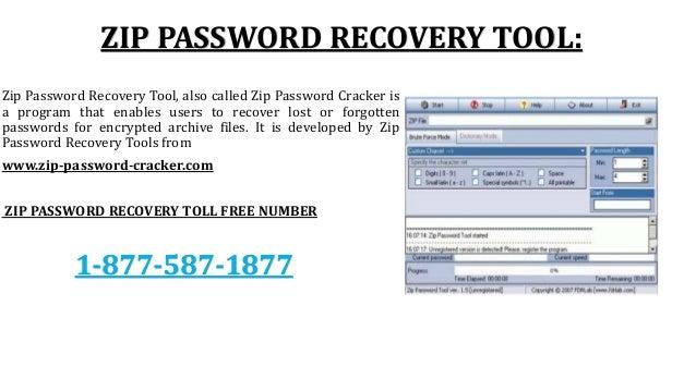 Zip Password Recovery PPT