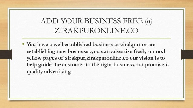 Zirakpuronline.co Slide 2