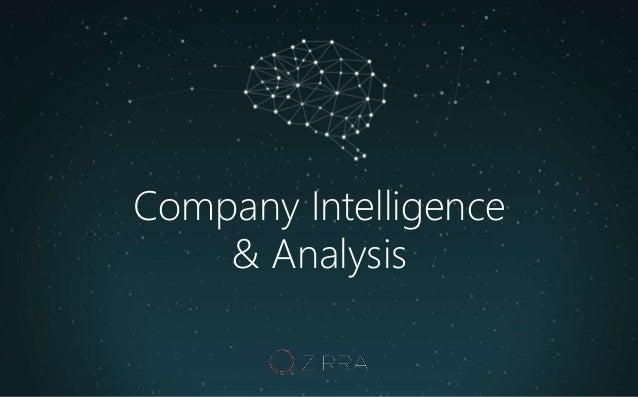 Company Intelligence & Analysis