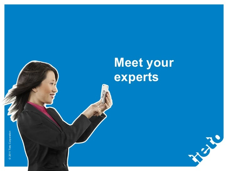 Meet your experts