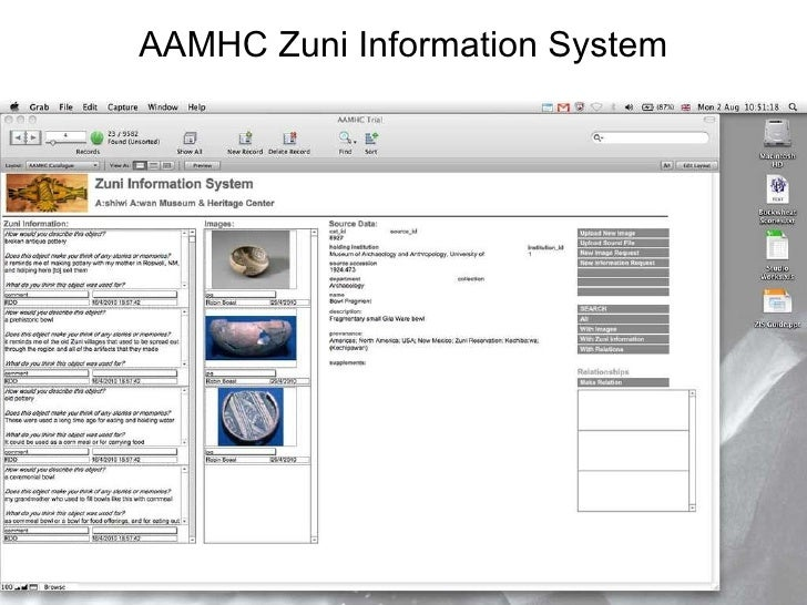 AAMHC Zuni Information System